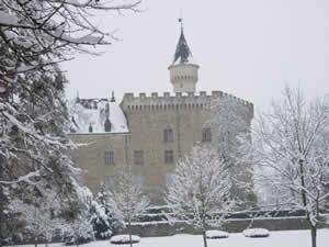 photo no.19 wintry views of the Chateau